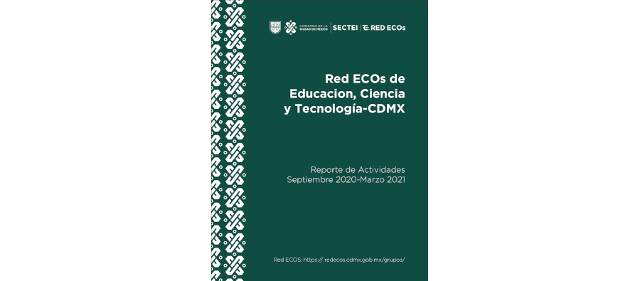 Reporte de actividades Septiembre 2020-Marzo 2021