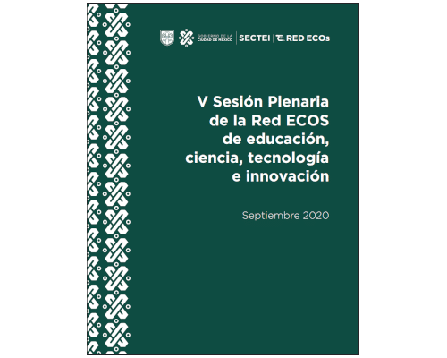 V Sesión Plenaria de la Red ECOs de educación, ciencia, tecnología e innovación